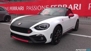 Abarth 124 Spider Exhaust Sound