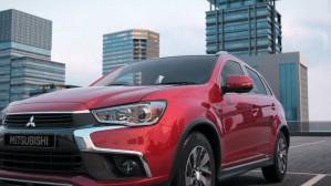 Mitsubishi ASX facelift 2017