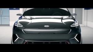 Kia Niro EV Concept Unveil CES 2018