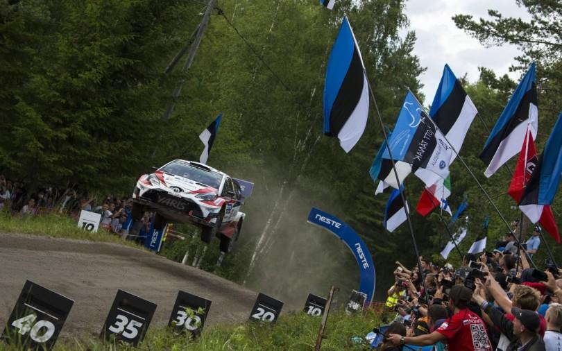 Rally Finland jump