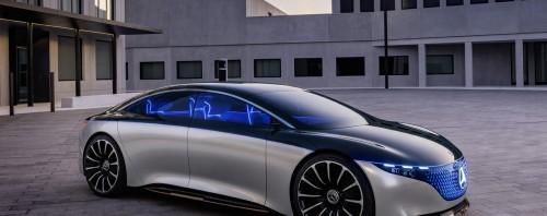 Το εντυπωσιακό concept ηλεκτρικό της Mercedes-Benz με αυτονομία 700 km! (vid)