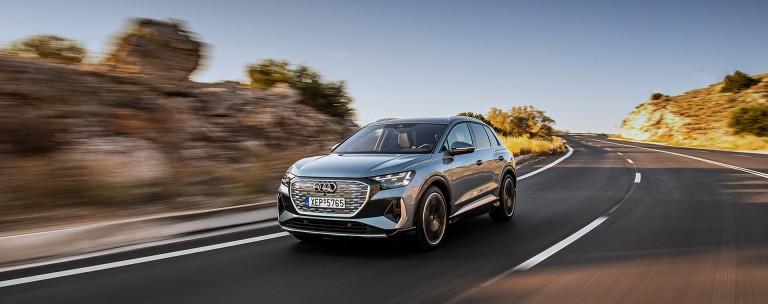 Οδηγούμε το νέο Audi Q4 e-tron στην Ελλάδα!