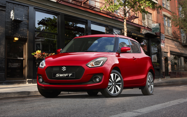 SWIFT 5d 1.0T GL+ 112hp
