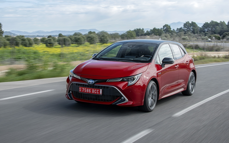 COROLLA HATCHBACK 1.8 HYBRID ACTIVE PLUS AUTO