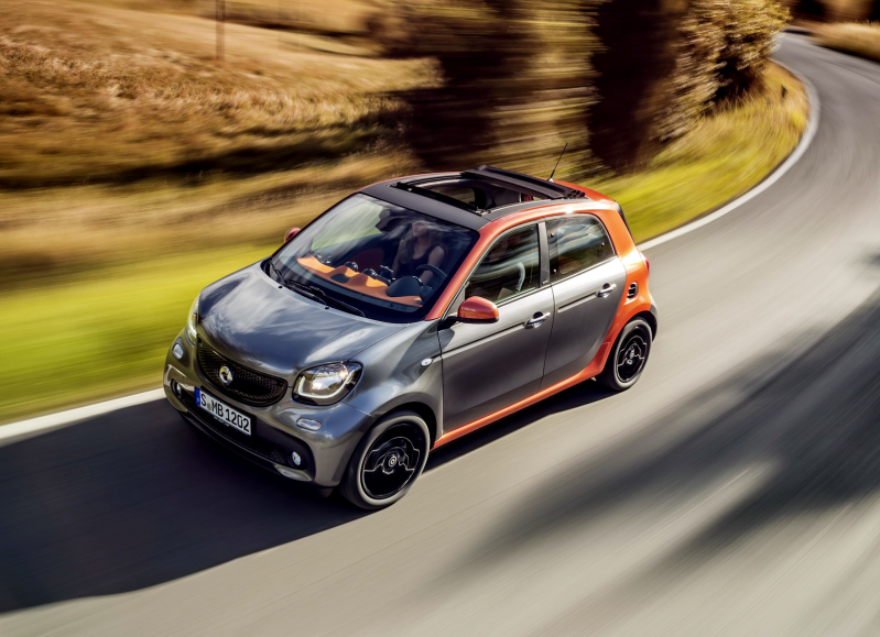 FORFOUR 1.0 perfect 71HP