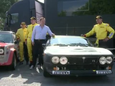 Road test of Pirelli P7 Corsa Classic with rally legends