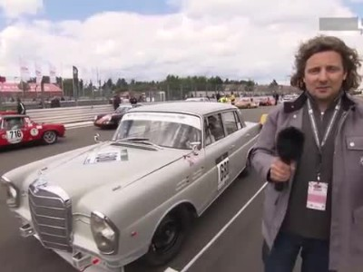Mercedes-Benz TV_The Eifelrennen on the Nurburgring