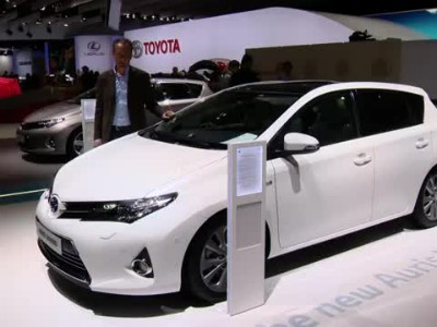Toyota at 2012 Paris Motor Show (Stand Guide)