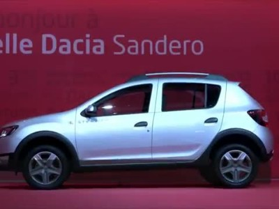 Dacia @ Mondial de l\'automobile 2012