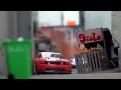 The Greatest RC Car Chase Ever