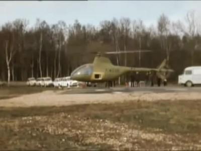 Citroen Wankel-Powered Helicopter