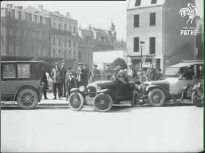 Ξε-παρκάρισμα με όχημα του 1927