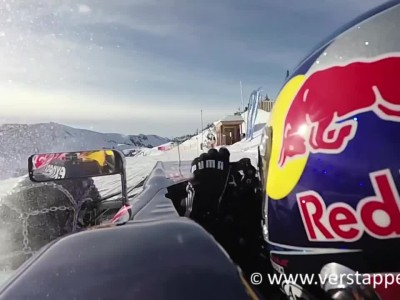 Max Verstappen F1 Snow Demo Red Bull RB7 Part 5