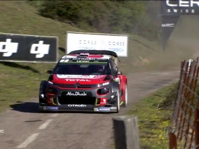 WRC Tpur de Corse Meeke engine issue