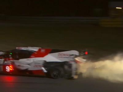 24h Le Mans 2017 Toyota Drama
