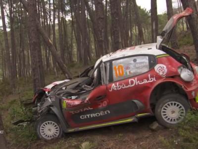 Kris Meeke - Ατύχημα στο Ράλι Πορτογαλίας