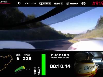 Porsche 919 record Nurburgring