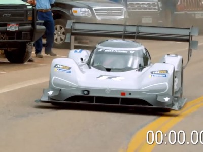 VW ID R Pikes Peak complete video
