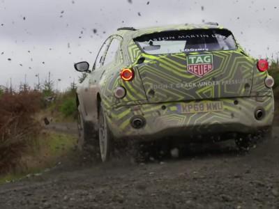 To SUV Aston Martin DBX σε δοκιμές