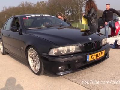 Μία BMW M5 E39