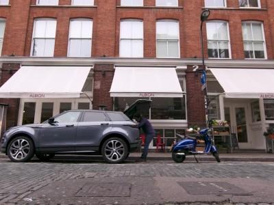 Ο Jamie Oliver άφησε την κουζίνα για χάρη του νέου Range Rover Evoque