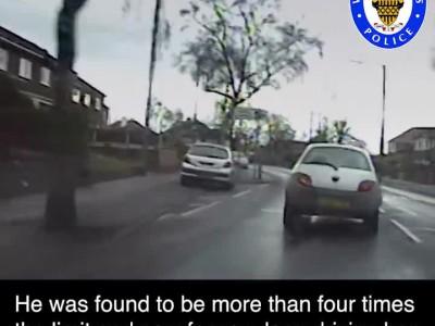 Μεθυσμένοι οδηγοί στην Αγγλία