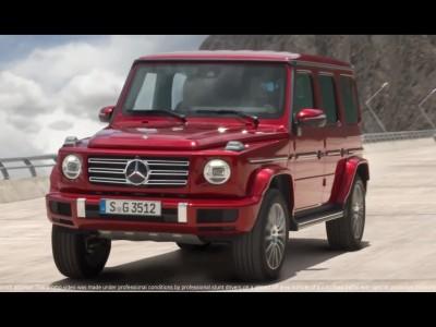 Mercedes-Benz G-Class στο φράγμα