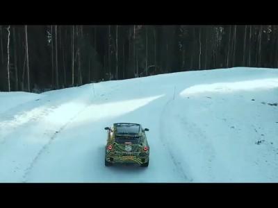 Η Aston Martin DBX σε δοκιμές στα χιόνια