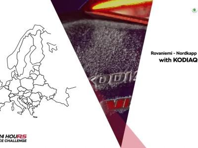 Skoda Kodiaq RS 24 hours Ice challenge
