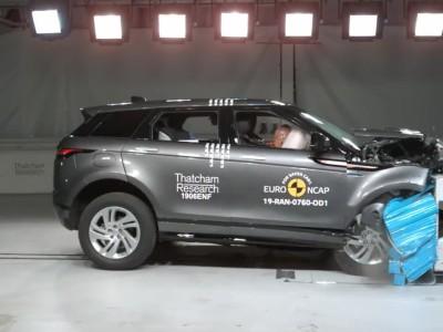 Euro NCAP - Δοκιμή Range Rover Evoque