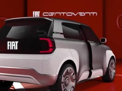 Το πρωτότυπο ηλεκτρικό Fiat Centoventi