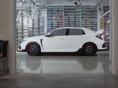 Honda Civic Type R με τουβλάκια LEGO