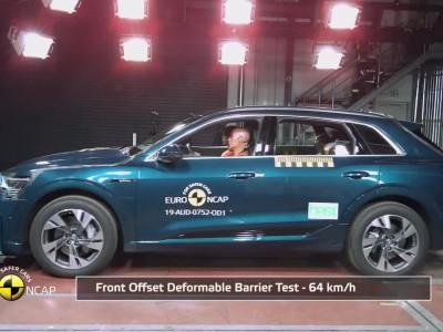 Δοκιμή Euro NCAP Audi e-tron