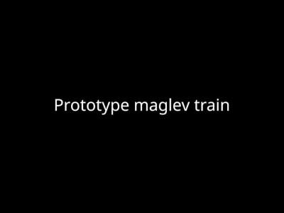 Το γρηγορότερο τρένο στον κόσμο θα αιωρείται!
