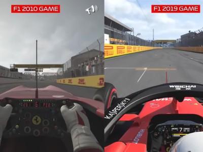 Τι (δεν) άλλαξε στο video game της Formula 1 μέσα σε 9 χρόνια