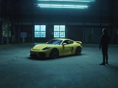 Νέα Porsche 718 Cayman GT4