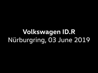 Volkswagen IDR record breaking run on the Nordschleife Onboard