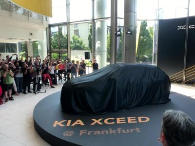 Kia XCeed στην Φρανκφούρτη GOCAR
