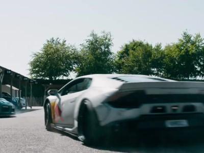 Lamborghini Huracan εναντίον φορτηγού Kamaz για μια θέση πάρκινγκ