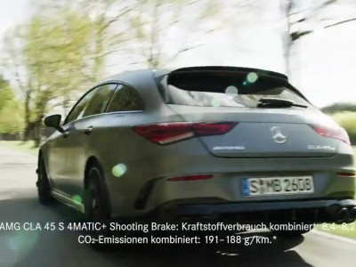 H νέα Mercedes-AMG CLA 45 S 4MATIC+ Shooting Brake