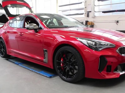 Kia Stinger GT 420 Track Car
