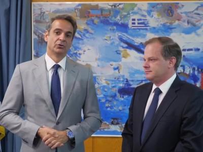 Επίσκεψη Πρωθυπουργού Κ. Μητσοτάκη στο ΥΜΕ