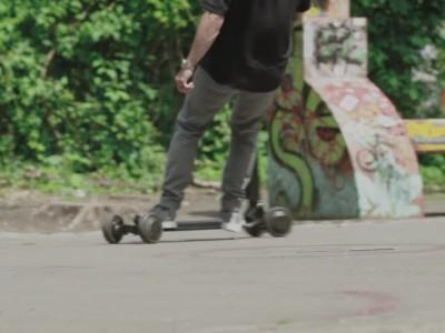Ηλεκτρικό scooter και skateboard από την Audi