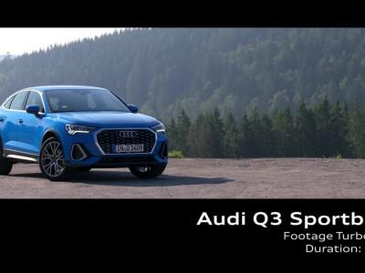 Audi Q3 Sportback Footage