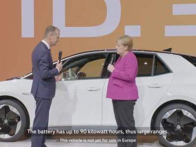 Η επίσκεψη της Merkel στην έκθεση Φρανκφούρτης 2019