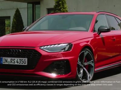 Αναβαθμισμένο Audi RS 4 Avant: Εξαγριωμένο
