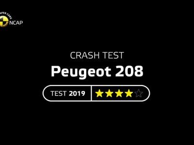 Euro NCAP Peugeot 208 2019