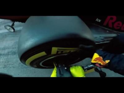 Pit stop σε συνθήκες μηδενικής βαρύτητας