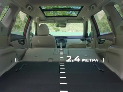 Nissan X-Trail 7seat interior 2019