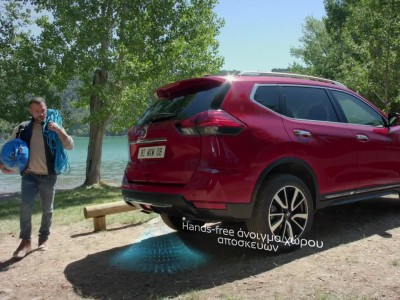 Nissan X-Trail hands free tailgate 2019